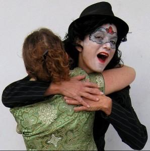 Purim hug Liora